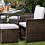 Thumbnail: Keisha 9 Pc. Patio Dining Set