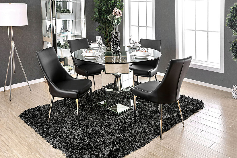 Furniture of America Izzy 5Pc Dining Table