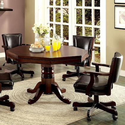 Rowan Cherry Game Table Set