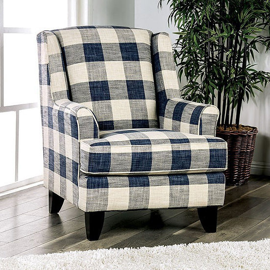 NASH CHECKERED CHAIR