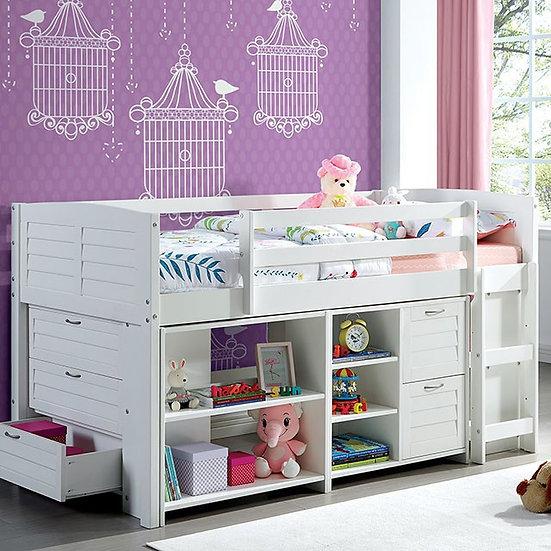 Furniture of America Abigail Twin Loft Bed Set