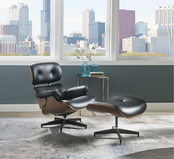 Keary Chair and Ottoman
