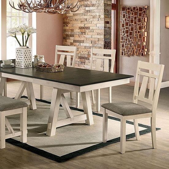 Furniture of America James Dining Table & Server Bundle