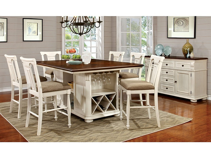 Furniture of America Sabrina Counter Ht. Table