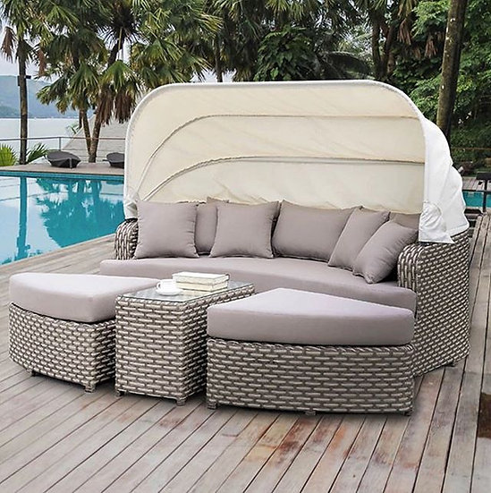 Lucy 4-pc patio Day bed