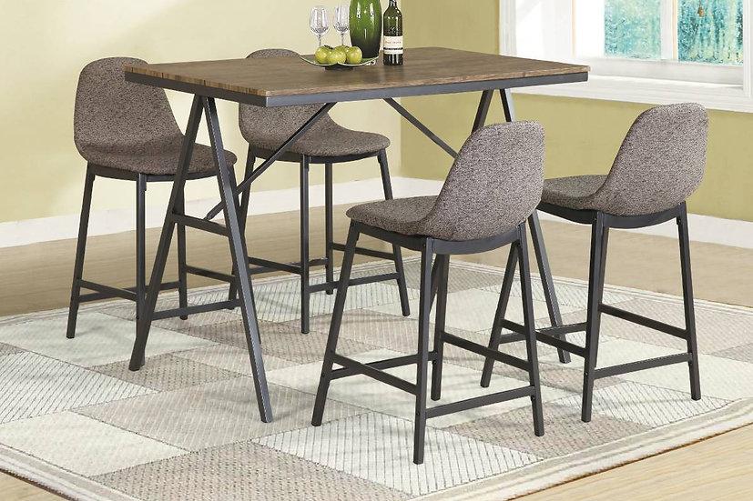 Baxton Studio five-piece dining set