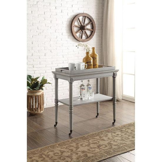 ACME Antique Slate Tray Table