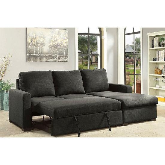 Furniture of America Arabella Sleeper Chaise Sofa