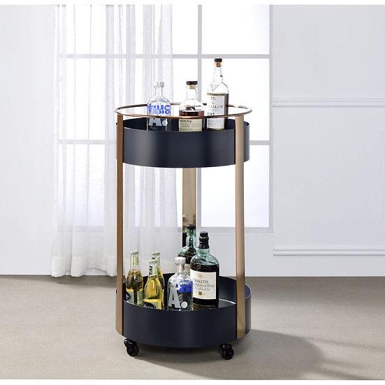 ACME Onyx & Copper Serving Cart