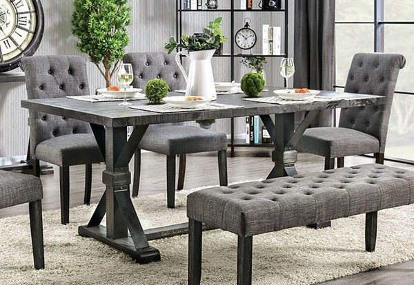 Alfred Dining Table Set w/Bench