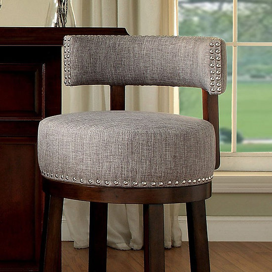 "Furniture of America Lynsey 25"" Bar Stool (2/Box)"
