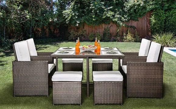 Sydney 9pc patio set