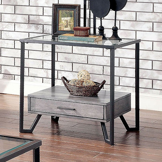 Furniture of America Ponderay End Table