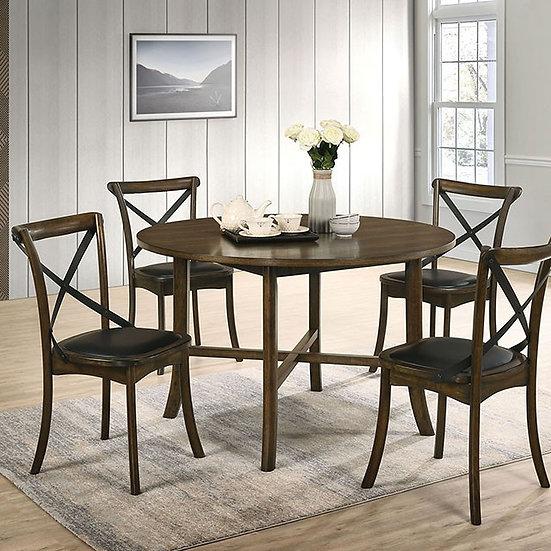 Buhl I Round 5-piece Table set
