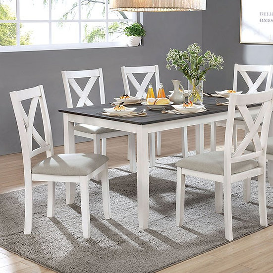 ANYA 7 PC. DINING TABLE SET