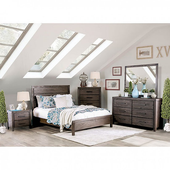 Furniture of America Rexburg Collection Panel Bed Set