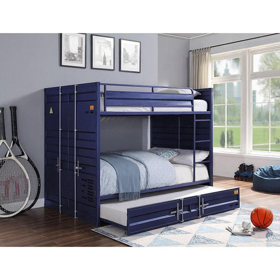 Navy Cargo bunk bed Twin/Twin