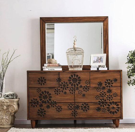 Amarantha Dresser w/ square mirror