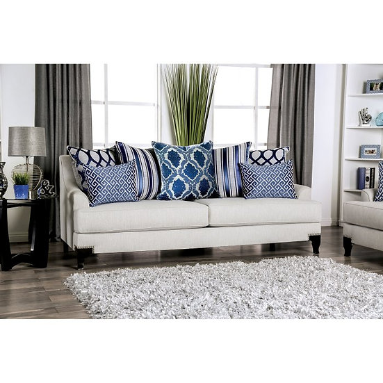 Furniture of America Sisseton T-Cushion Sofa