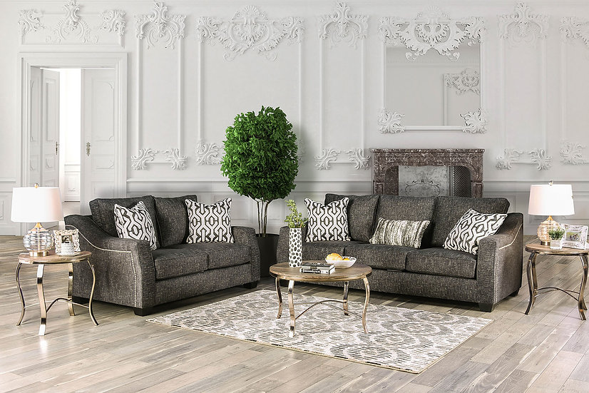 Coralie Loveseat & Sofa set