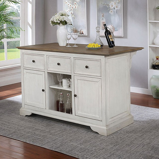 Furniture of America Scobey Kitchen Island