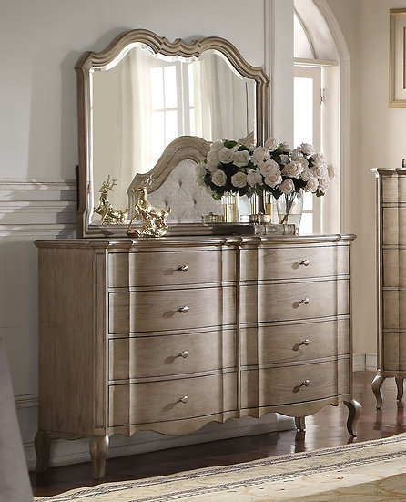 Chelmsford Drawer Dresser in Antique Taupe