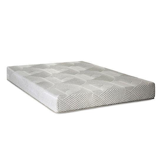 Furniture of America Contemporary Grey Memory Foam Mattress - Full