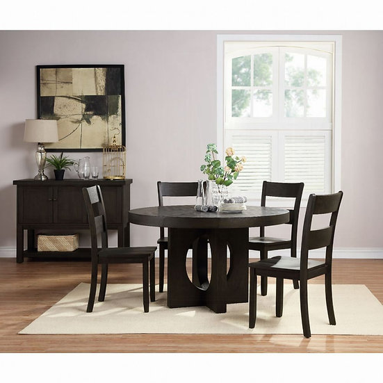 ACME Haddie Dining Table set & matching server