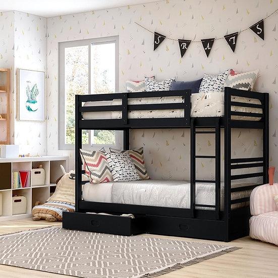 CALIFORNIA TWIN/TWIN BUNK BED
