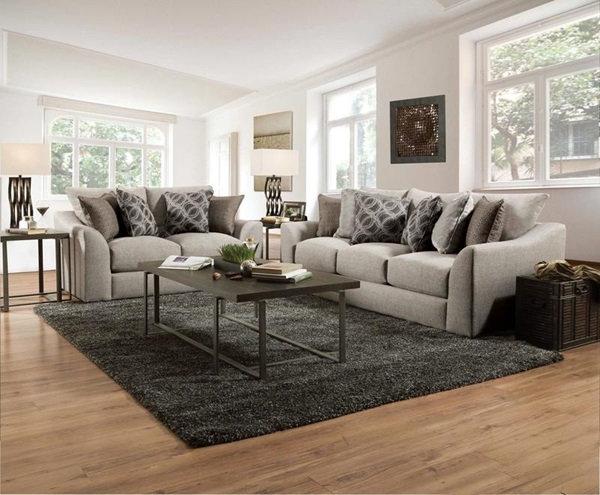 Petillia loveseat & sofa