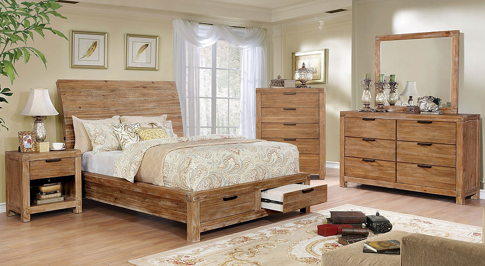Furniture of America Dion Queen Bed