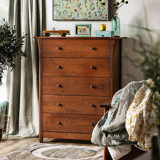 Furniture of America Keizer 5- Drawer Chest