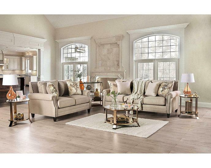 Furniture of America Briana Sofa & Loveseat