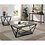 Thumbnail: Furniture of America Contemporary Grey Metal Coffee Table
