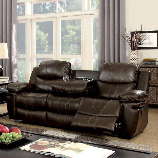 Furniture of America Listowel Reclining Sofa