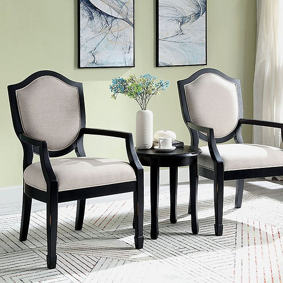 3pk ACCENT TABLE AND CHAIR