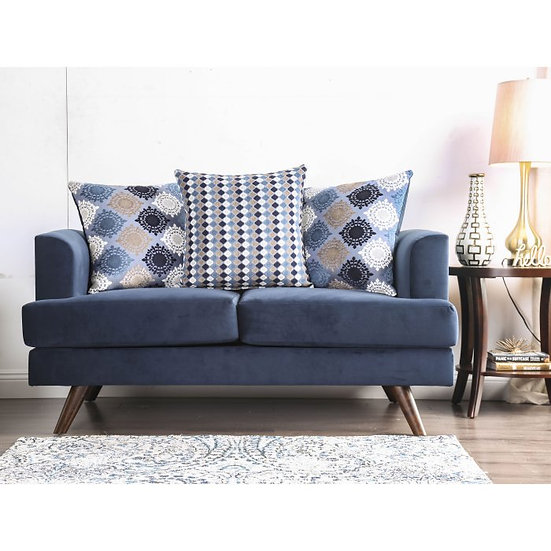 Furniture of America Blaenavon Contemporary Loveseat