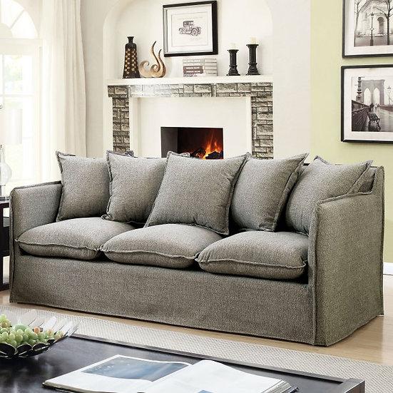 Furniture of America Rosanna I Sofa with Pillows
