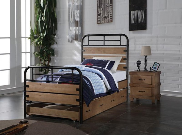 Adams youth bed trundle