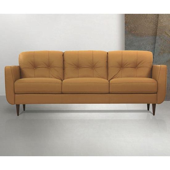 Radwan Leather Sofa
