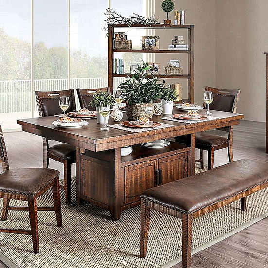 Wichita Dining Table W/Bench &  matching Server