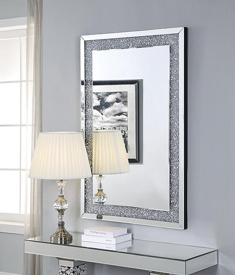 Noralie Wall Décor, Mirrored and Faux Diamonds