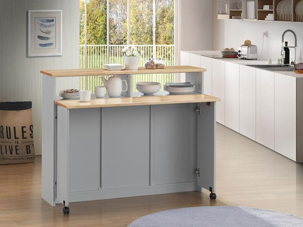 Acme Furniture Jorim Mobile Kitchen Island