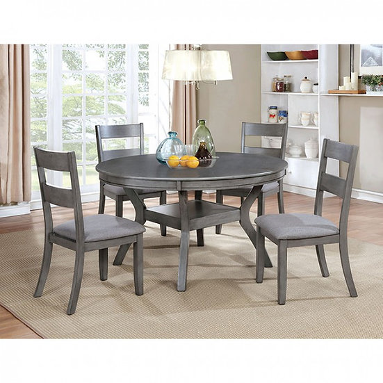 Juniper Round 5PC Dining Table Set
