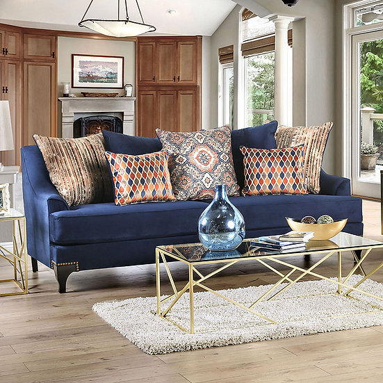Furniture of America Sisseton T-Cushion Sofa