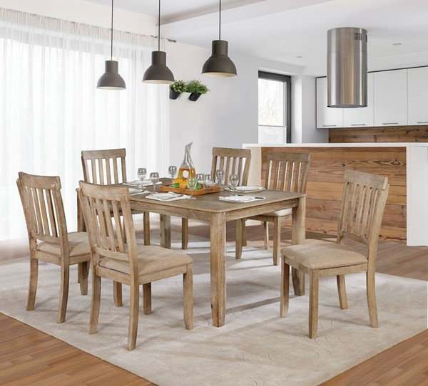 Furniture of America Kiara Dining Table Set