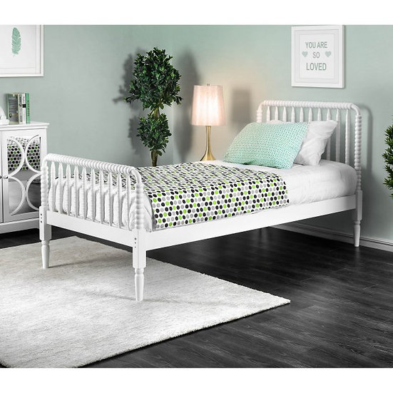 Furniture of America Jenny Full Lind Rail Bed