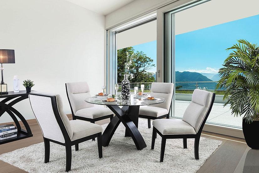 Furniture of America Jasmin Dining Table Set