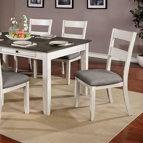 Furniture of America Anadia Dining Table Set