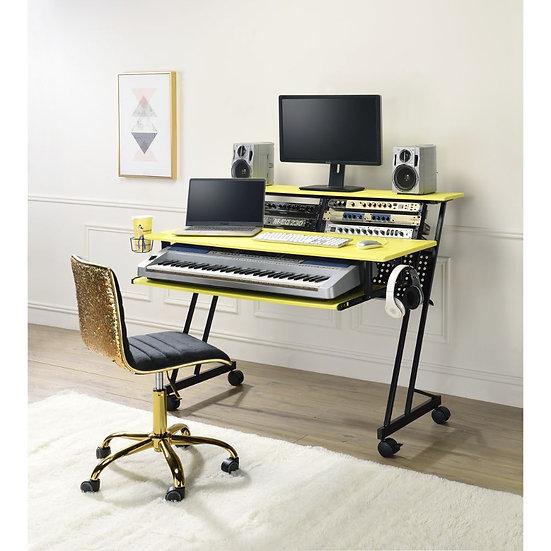 Industrial, Contemporary Computer Desk